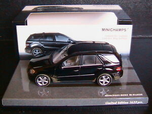 Mercedes M Klasse Ml 500 W164 2005 Noir Version Sale Minichamps 436034500 1/43