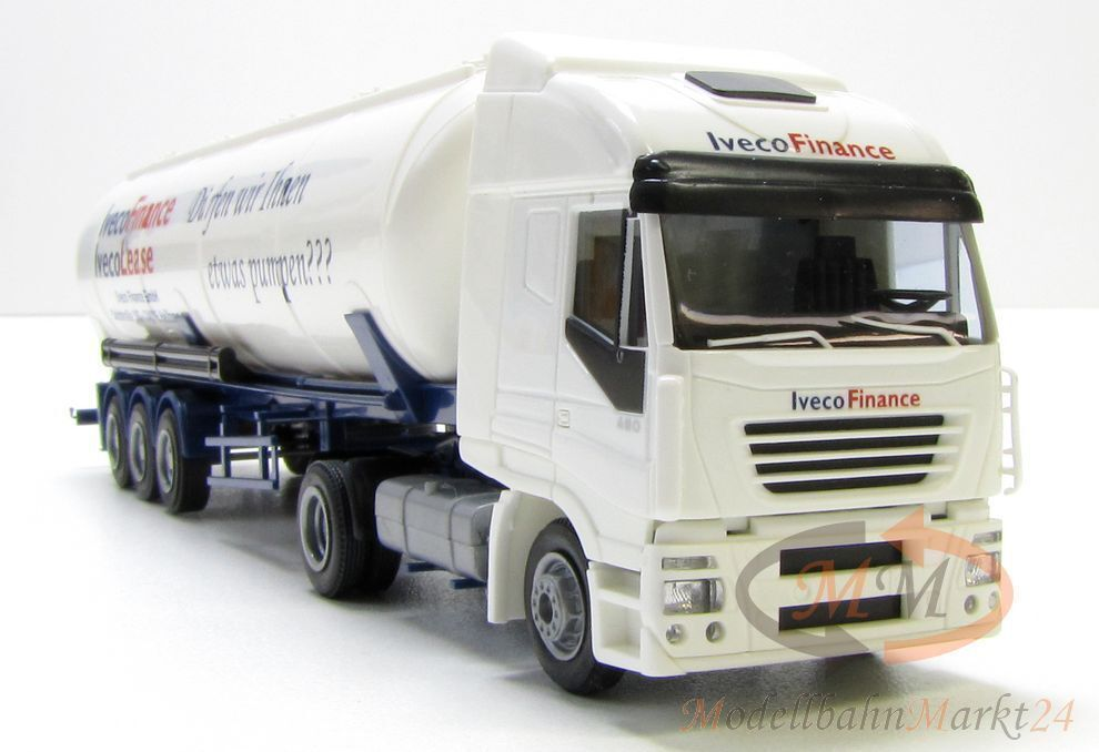 AWM 56569 IVECO STRALIS Silo-Articulated Lorry Promotional Model ivecofinance Limited-OVP