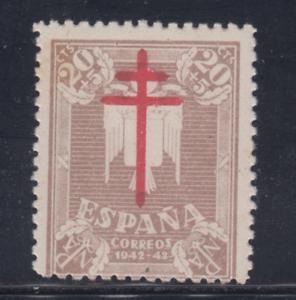 ESPANA-1942-NUEVO-SIN-FIJASELLOS-MNH-SPAIN-EDIFIL-958-20-cts-5-cts-LOTE-3