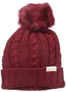 Image is loading NEFF-Women-039-s-Mae-Cable-Beanie-with- 70c63241ab1