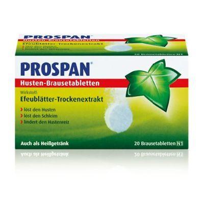 PROSPAN Husten Brausetabletten 20St PZN 04345575