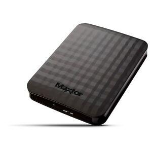 Maxtor-por-Seagate-M3-4TB-Movil-Disco-Duro-Externo-en-Negro-USB3-0