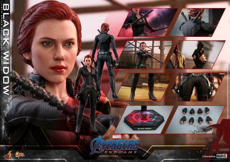 1 6th Hot Juguetes MMS533 Los Vengadores 4 la batalla final viuda negra 12  Figura Cuerpo
