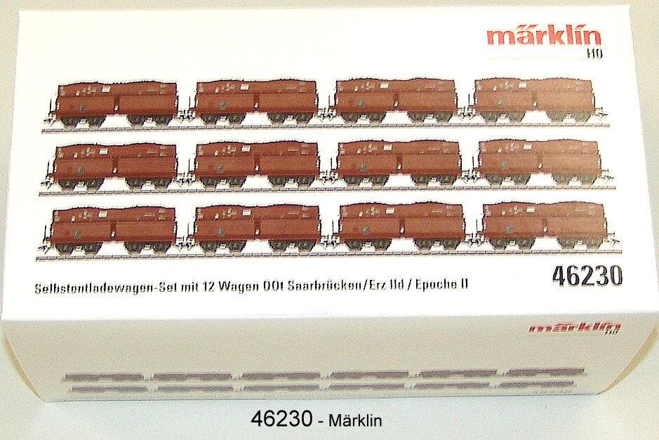 Märklin 46230 Set vagoni minerale IID della DRG 12 pezzi   NUOVO SCATOLA