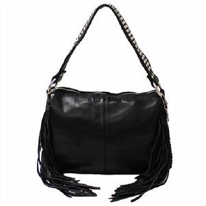 Image Is Loading Black Raviani Western Leather Handbag Tote Amp Cross