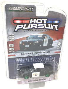 Greenlight Dodge Charger Police 2008 California Highway Patrol 1//64 42790