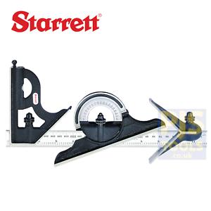 Ingénieurs Combinaison Carré Set STR435ME300 Starrett 435ME-300 300 mm 12 in environ 30.48 cm