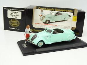 Elysée Résine Cec 1/43 - Peugeot 402 Eclipse 1938 Figurine