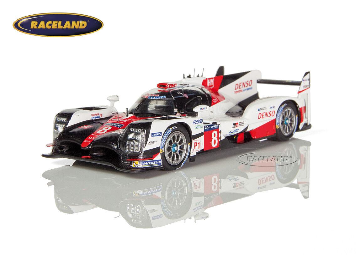 TOYOTA ts050 Hybrid lmp1 Le Mans 2017 Buemi Davidson Nakajima Spark, 1 43, s5804