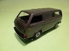 SCHABAK 1040 VW VOLKSWAGEN T3 CARAVELLE SYNCRO -  DARK GREY 1:43 - EXCELLENT