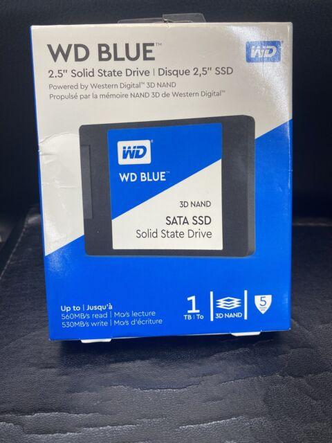 WD Blue 1TB 3D NAND SATA III 2.5 in. Internal SSD - Brand New