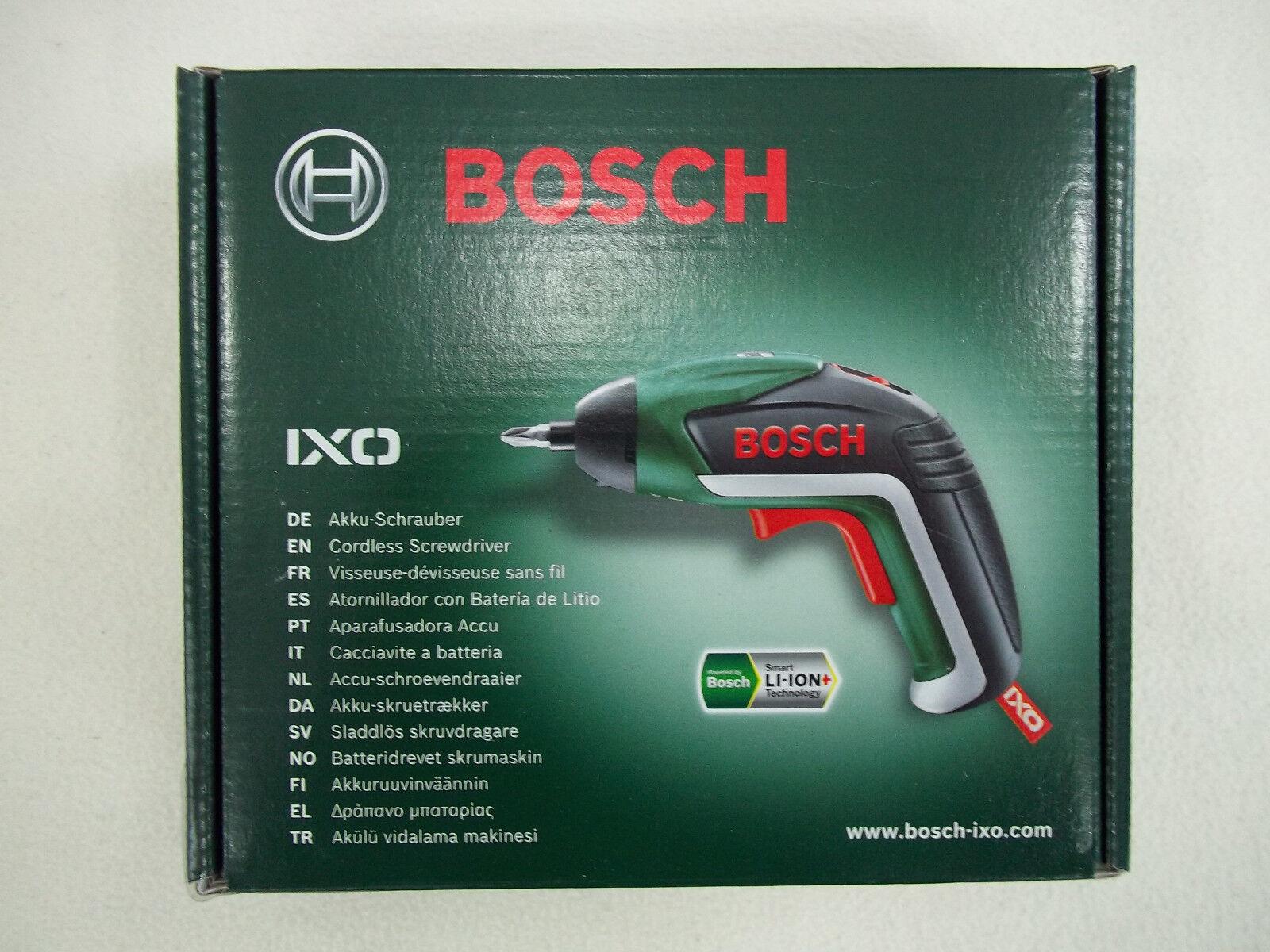 Bosch Akkuschrauber IXO V mit USB-Lader