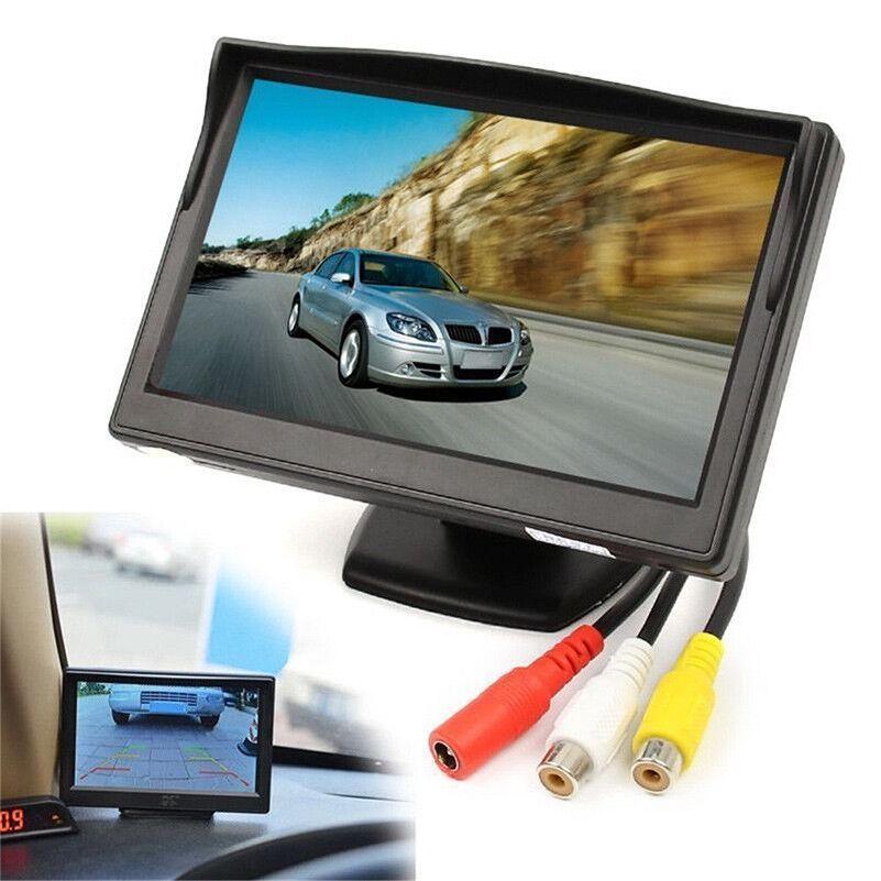 """5"""" TFT LCD Car Rear View Backup Monitor+Wireless Parking Night Vision Camera Kit 3"""