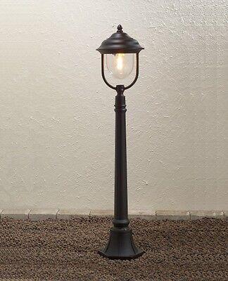 Borne d'éclairage Lampe de jardin Lampadaire Luminaire extérieur classique 37521