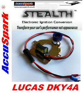 MG-TD-TC-Positive-Earth-AccuSpark-electronic-conversion-for-Lucas-DKY4A