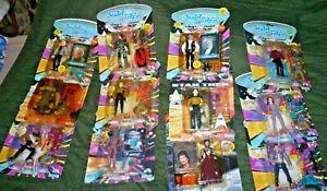 Star-Trek-playmates-lot-of-12-figures-Data-Scotty-Mccoy-worf