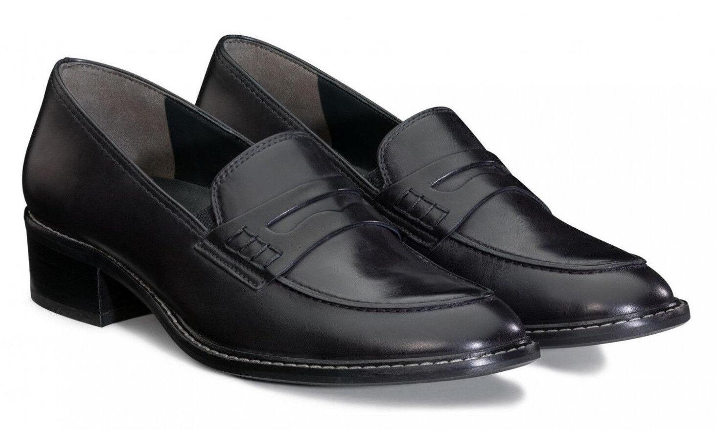 NEU Schuhe Paul Grün 2148 051 Schuhe NEU Slipper Trotteur Loafer ocean blau Leder 189dc1