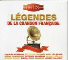 CD DIGIPACK 20T LEGENDES DE LA CHANSON FRANCAISE DE 2013 NEUF SCELLE