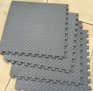 Image Is Loading Garage Work Floor Tiles 64 Sq Ft 12mm