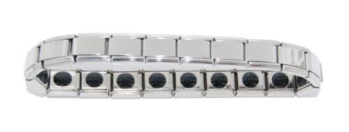 Enlace de 18 Pulsera de curación de encanto italiano Brillante-se adapta a 9mm Clásico Italiano Charms