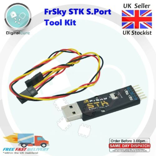 Telemetry Data Monitor /& Configuration FrSKY STK Tool S.Port Upgrade S6R//S8R