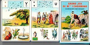Grand-Jeu-De-Mlle-Lenormand-54-Karten-Grosse-Lenormandkarten-Lenormand-Karten