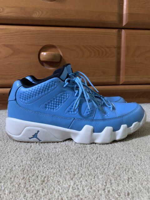on sale 8e8f5 8a443 Nike Air Jordan Retro 9 IX Low UNC Pantone University Blue Sz 11 US 832822  401
