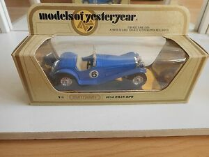 Matchbox-Models-of-yesteryear-1934-Riley-MPH-in-Blue-on-1-43-in-Box