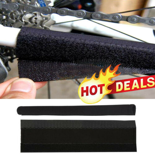 2x Cycling Bike Bicycle Frame Chain Stay Protector Pad Guard Cover Wrap V9F
