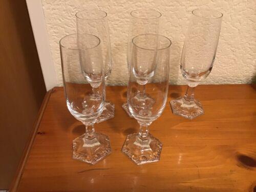 Rosenthal Maria - 5 Sektgläser Flöten - Champagner - Gläser