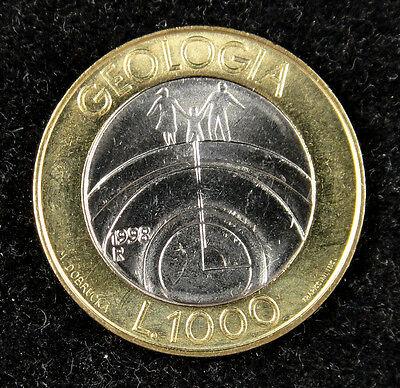 bimetallic San Marino 1000  Lire 1998