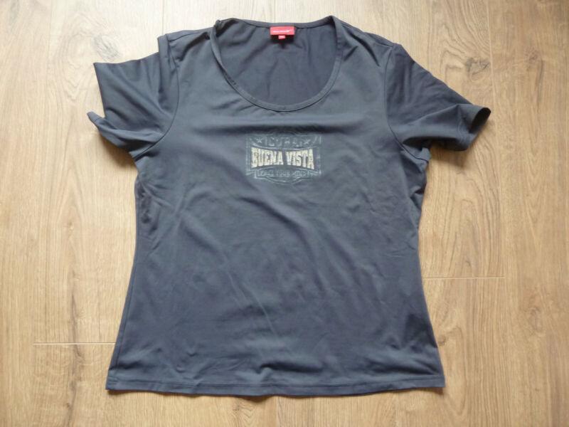Realistisch T-shirt Von Very Venice (venice Beach) In Dunkelblau Gr. 42 ( 44 ) Fest In Der Struktur