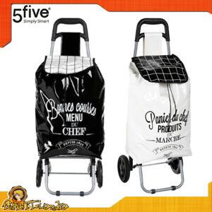 Carrello Trolley della per la da spesa con 2 ruote borsa pieghevole richiudibile