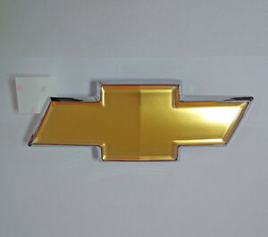 96985011 Trunk CHEVROLET Brand Emblem 1p For 2006 2010 Chevy Aveo 4d