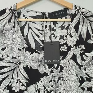 DECJUBA-Womens-Print-Blouse-Top-NEW-Size-L-or-AU-14-or-US-10