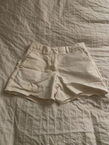 Gap Tailored White Shorts 00R - image 1