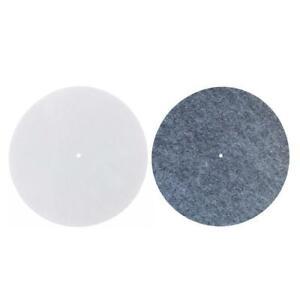 3mm-Thick-Felt-Platter-Slipmat-Anti-Vibration-Mat-Audiophile-For-Record-Players