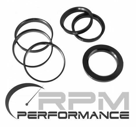 4 Cerchi Anelli di centraggio 74,1 /> 57,1mm HUBCENTRIC Spigot RINGS anillos centradore
