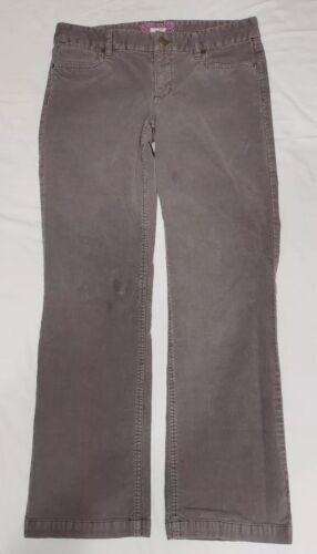 J.Crew Gray Bootcut Corduroy Pants Cords Size 30S