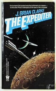 The-Expediter-by-J-Brian-Clarke-1990-DAW-Science-Fiction-Paperback