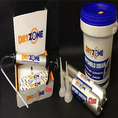 DRYZONE DPC SYSTEM PACKS FOR THE TREATMENT OF RISING DAMP