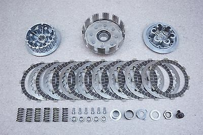 2000 00 KTM 300EXC 300 EXC OEM Engine Clutch Assembly Baskets Plates Springs