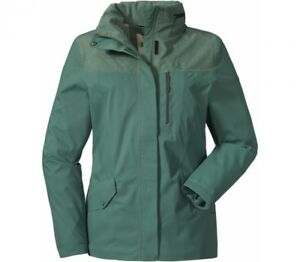 48 Murnau Schöffel Jacke Dunkelgrün Details Zu Outdoorjacke 36 Damen Regenjacke zSpLUVMqjG