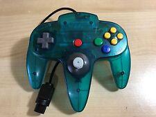 STICK MEJORADO (tipo gamecube) Nintendo 64 Original N64 color verde translucido