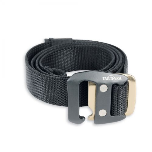 cintura chiusura a scatto Tatonka BELT Stretch 32mm NERO
