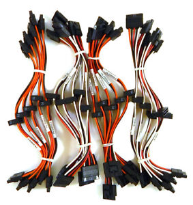 2x 15 Pin F Lot-20 SATA Power Splitter Y Cable New 654000-L20 15 Pin M to
