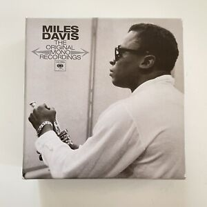 The Original Mono Recordings  Miles Davis 9 CD Box Set US Version Like New