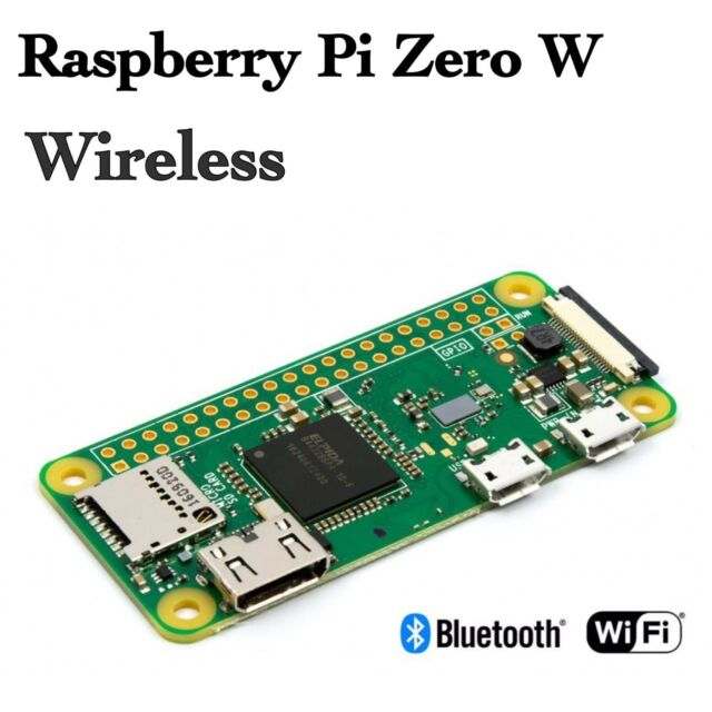 Raspberry Pi Zero W - Wireless / LAN / Bluetooth 4.1 - Development Board NEW