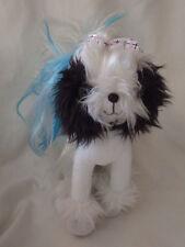 "Spin Master Tini Puppini White Puppy Dog Plush Toy Stuffed Animal 12"" Tall"