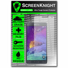 ScreenKnight Samsung Galaxy Note 4 / IV FRONT SCREEN PROTECTOR invisible shield